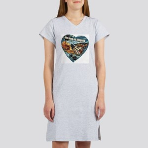life loves the passionate Women's Nightshirt