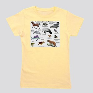 Florida State Animals Girl's Tee