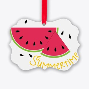 Summertime Picture Ornament