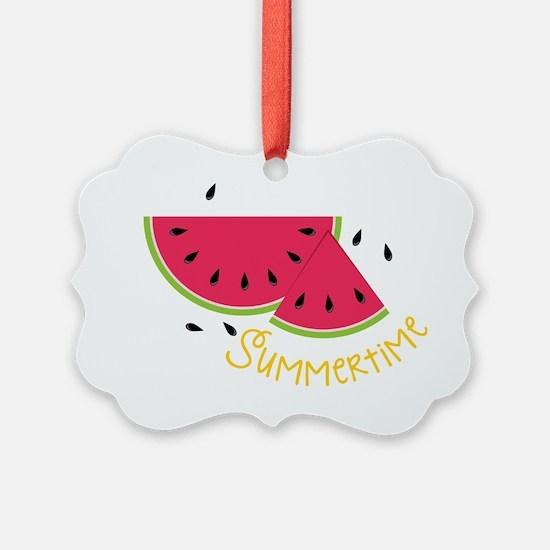 Summertime Ornament