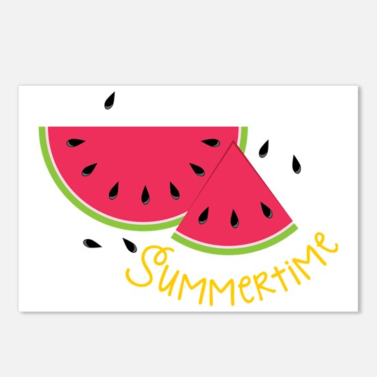 Summertime Postcards (Package of 8)
