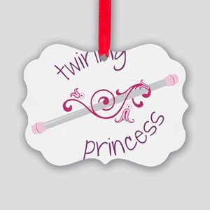 Twirling Princess Picture Ornament