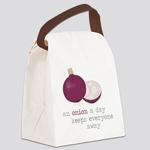 Keep Away Canvas Lunch Bag