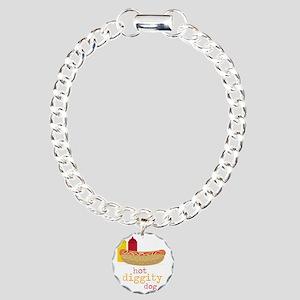 Hot Diggity Charm Bracelet, One Charm