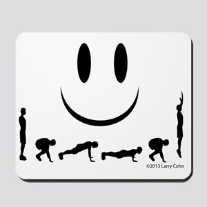 Yes, burpees again Mousepad