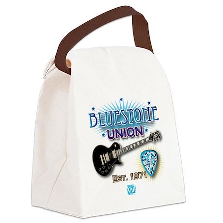 Bluestone Union Logo Est. 1971 Canvas Lunch Bag