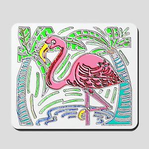 FLAMINGO MOLA DESIGN Mousepad