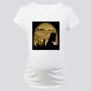 Mystery Goat Theater Maternity T-Shirt