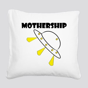 Mother Ship Square Canvas Pillow