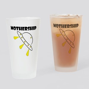 Mother Ship Drinking Glass