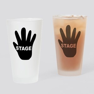Stage Hand Drinking Glass