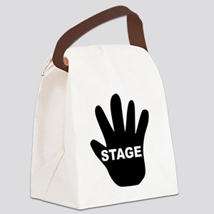 Stage Hand Canvas Lunch Bag