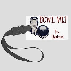 bowl-me-3-CAP Large Luggage Tag