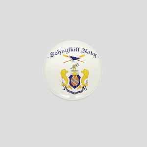 Crest of Schuylkill Navy Mini Button