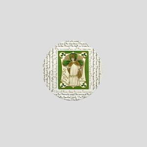 St. Patricks Breastplate Square Mini Button