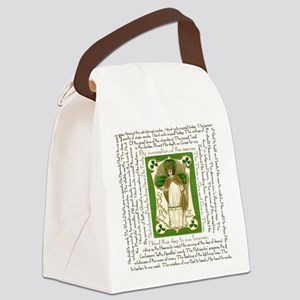 St. Patricks Breastplate Square Canvas Lunch Bag
