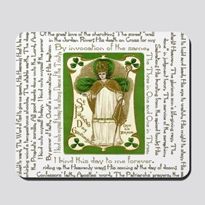 St. Patricks Breastplate Square Mousepad