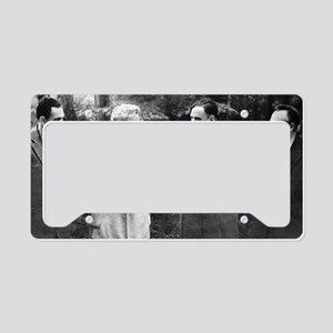 Soviet engineers and physicis License Plate Holder