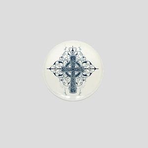 Celtic Cross Mini Button