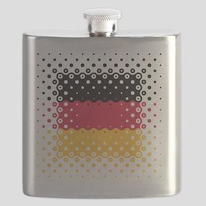 Flag of Germany / Deutschlandflagge Flask