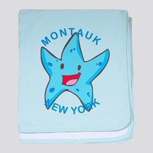 New York - Montauk baby blanket