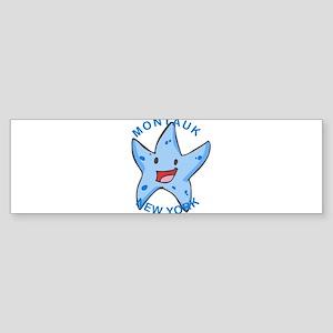 New York - Montauk Bumper Sticker