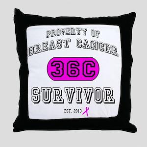 Property BCS 36C Throw Pillow
