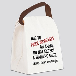 Due to price increases... Canvas Lunch Bag