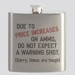 Due to price increases... Flask