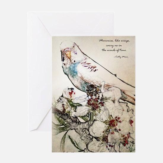Paraket 003 Greeting Card