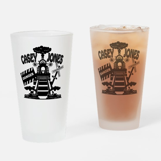 casey jones Drinking Glass