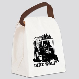 direwolf Canvas Lunch Bag