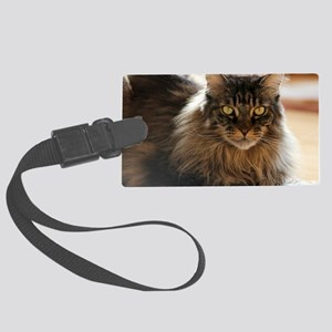 Maine Coon Large Luggage Tag