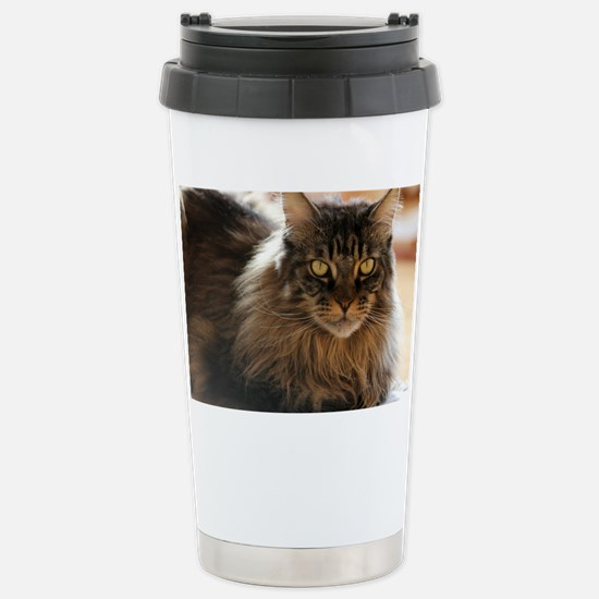 Maine Coon Stainless Steel Travel Mug