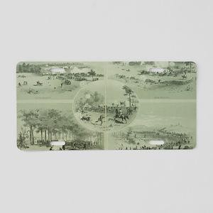 Gettysburg Battle Aluminum License Plate