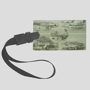 Gettysburg Battle Large Luggage Tag