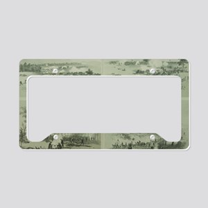 Gettysburg Battle License Plate Holder