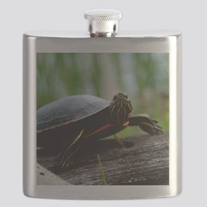 Paint Turtle Flask
