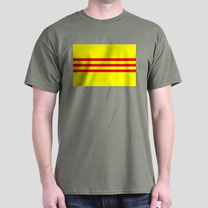 South Vietnam flag Dark T-Shirt