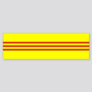 South Vietnam flag Sticker (Bumper)