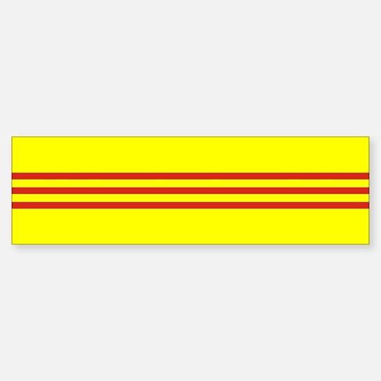 South Vietnam flag Sticker (Bumper)