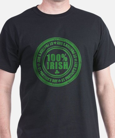 100 percent irish stamp T-Shirt