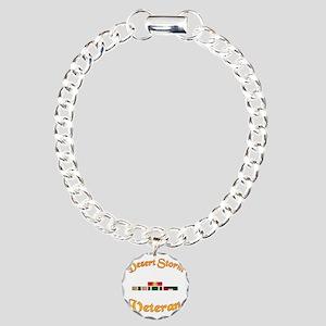 Desert Storm Mug Charm Bracelet, One Charm
