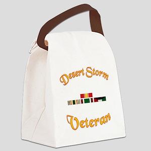 Desert Storm Mug Canvas Lunch Bag