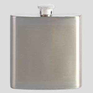 cream raindrops Flask