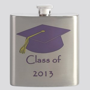 Class of 2013 Purple and Gold Cap Flask