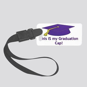 Graduation baseball or Trucker H Small Luggage Tag
