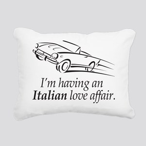 An Italian Love Affair Rectangular Canvas Pillow
