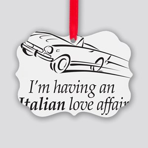 An Italian Love Affair Picture Ornament