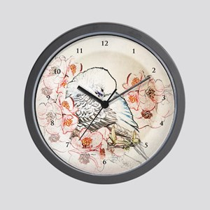 Parakeet 004 - Dreams - Clock Wall Clock